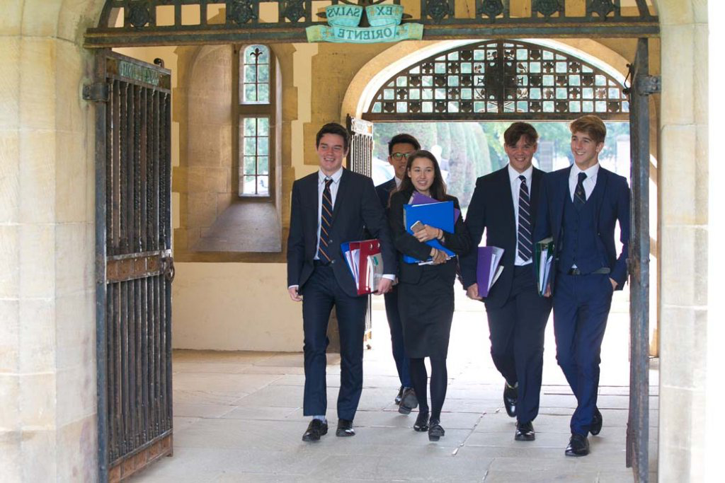 eastbourne college admissions sixth form pupils walking